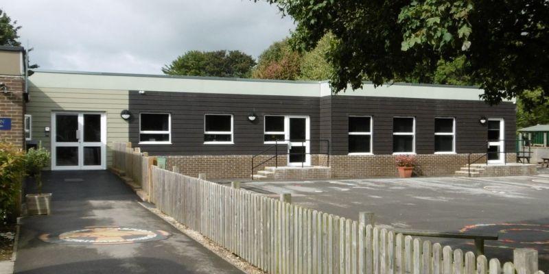 Wilton classrom exterior
