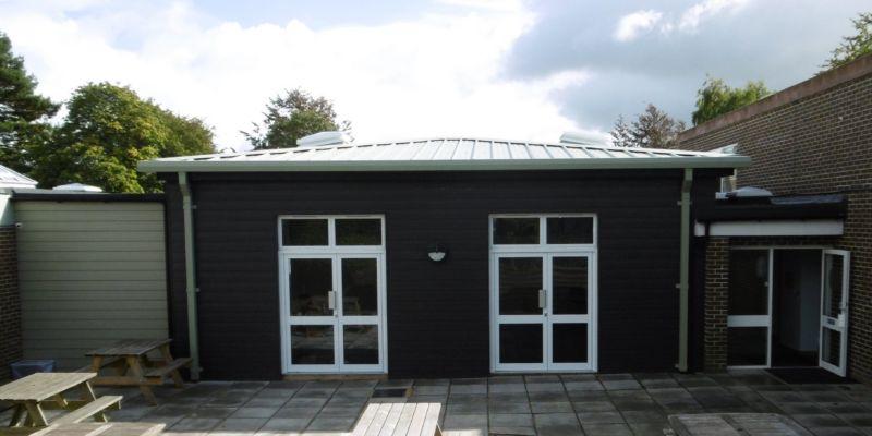 Wilton studio exterior