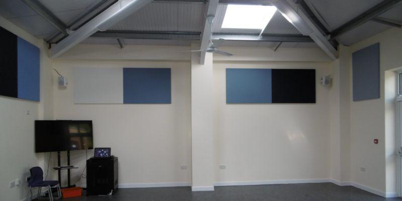 Wilton studio interior