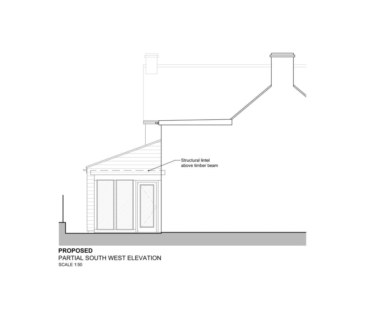 Extension and alterations, Easterton : Dolman Surveyors